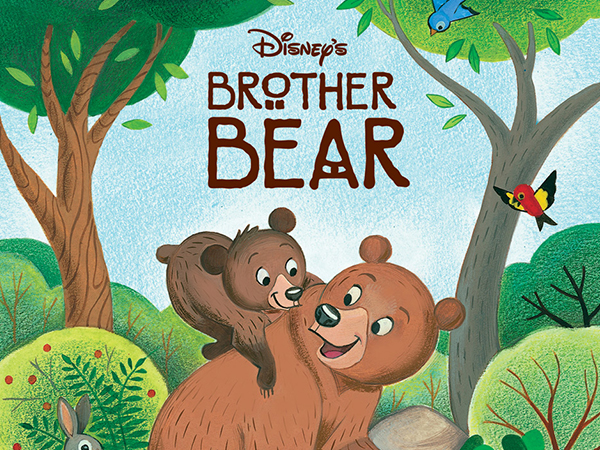 Brother Bear – Little Golden Book