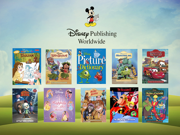 Disney Publishing – Storybooks